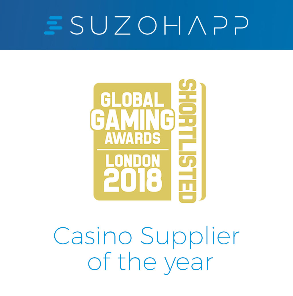 SUZOHAPP shortlisted for 'Casino Supplier of the Year' at Global Gaming  Awards London 2018