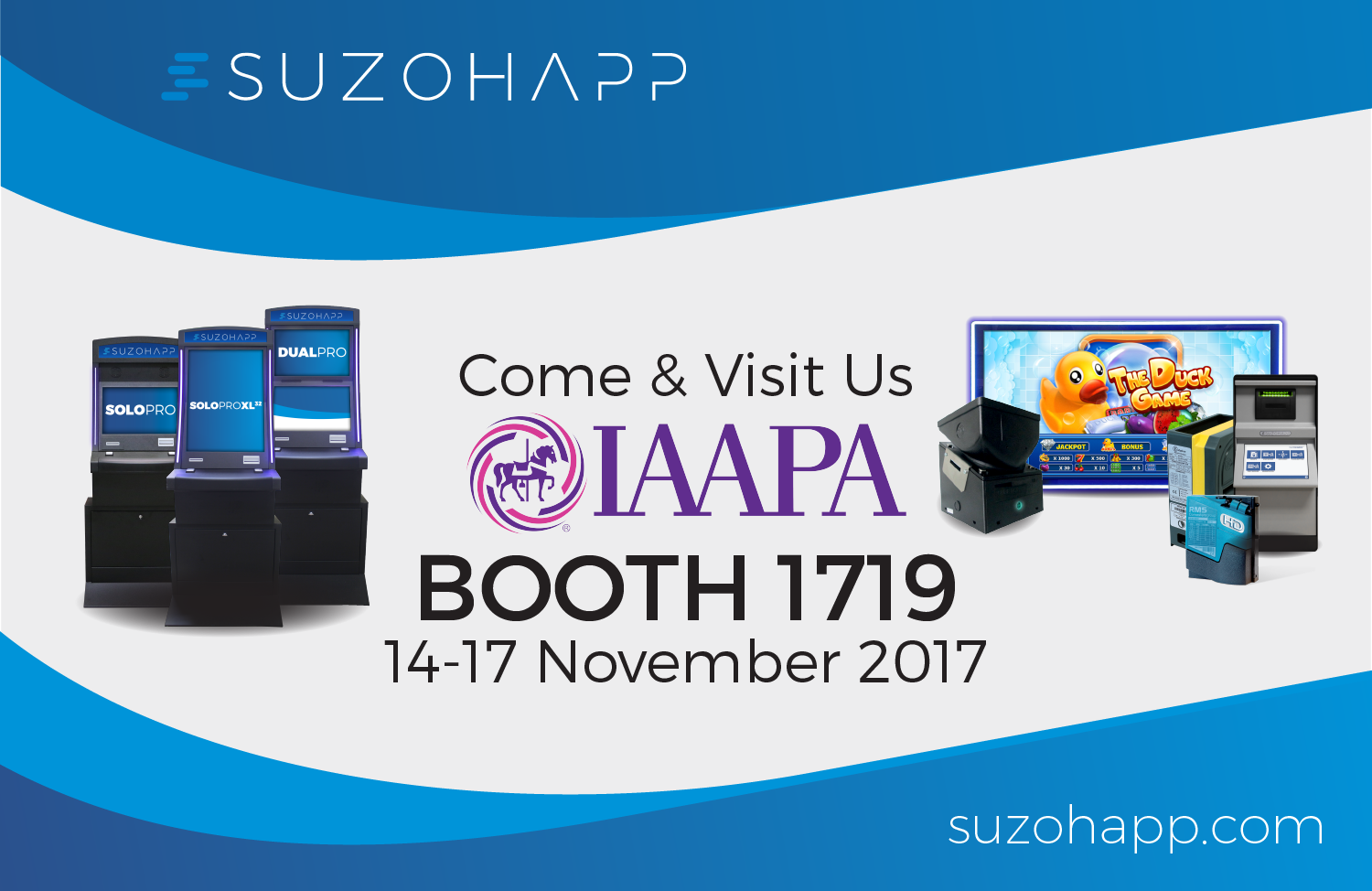 SUZOHAPP in full force at IAAPA