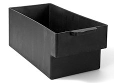 Plastic Cashbox - 280x126x116 mm - 22-2404