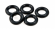 Rubber Ring Black 7/16\