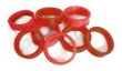 Rubber Ring Flat 3/8 X 1-1/2 Red - 25-0214