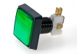 STC Pushbutton Illuminated, Large Square, 51x51 mm, Green - 26-0610-5