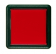 Bouton ronde 37x37 mm rouge - 26-1160-2