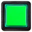 Combo Pushbutton, Small Square, Green - 26-2000-5