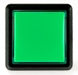 Combo Pushbutton, Large Square, Green - 26-2010-5