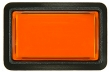 Bouton Combo - rectangulaire orange - 26-2030-3