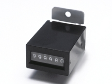 Basemount Counter 12Vdc with Diode 6 Digits - 27-0015