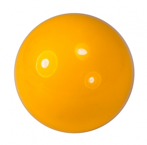 Billiardball 57.2 mm - Yellow - 47-0805-4